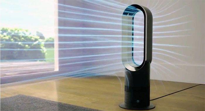 безлопастной напольный вентилятор