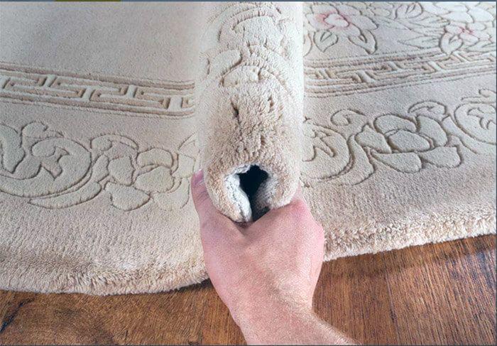 как проверить ковёр на плотность