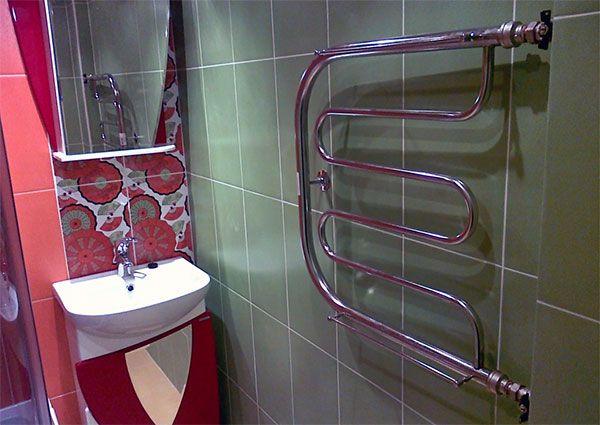 Краска для полотенцесушителя в ванной