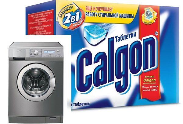 Calgon для чистки стиральных машин